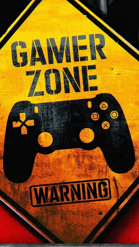 Gamer Zone Mobile Phone Wallpaper Image 1