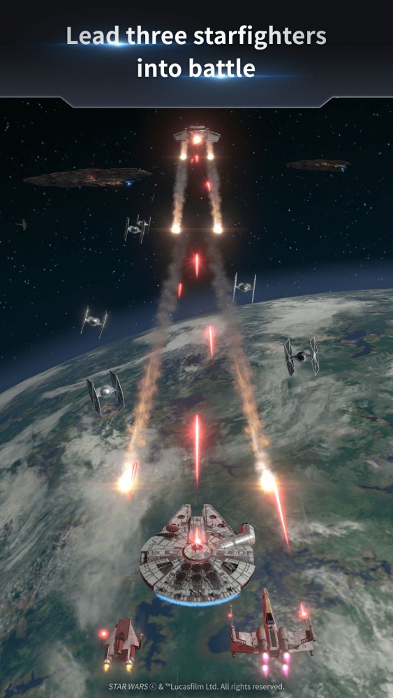 Star Wars™: Starfighter Missions Android Game Image 3