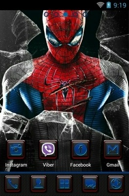 Amazing Spider-Man Go Launcher Android Theme Image 1
