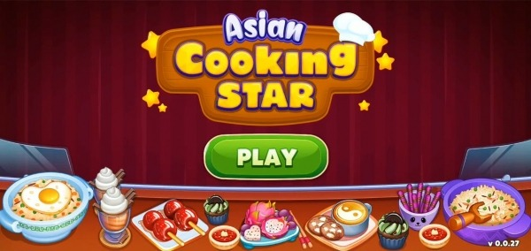 Asian Cooking Star: New Restaurant & Cooking Games Android Game Image 1