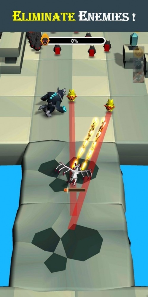 Dragon Hero 3D Android Game Image 1