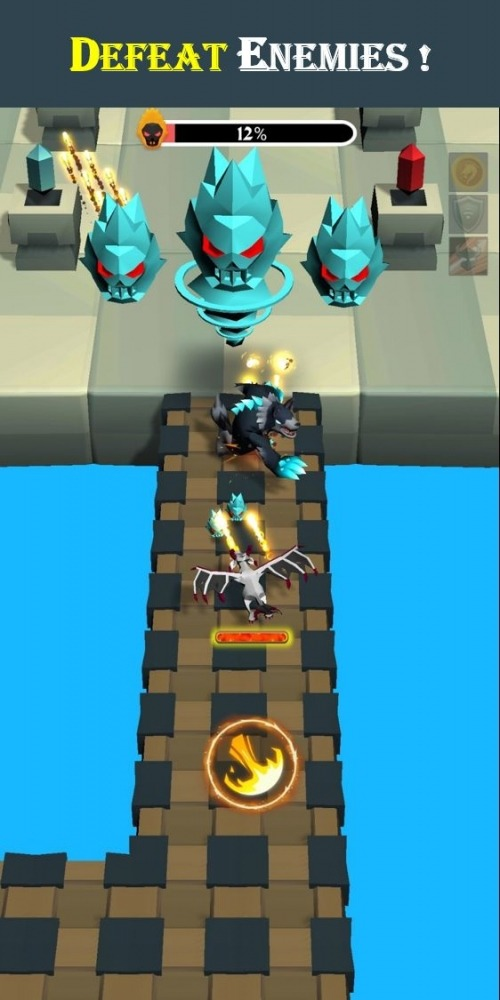 Dragon Hero 3D Android Game Image 2