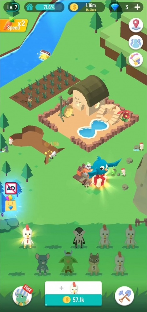 Idle Island: Build And Survive Android Game Image 2