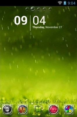 Ager Go Launcher Android Theme Image 1