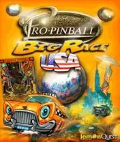 Pro Pinball: Big Race USA Java Game Image 1