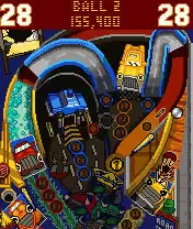 Pro Pinball: Big Race USA Java Game Image 2