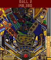 Pro Pinball: Big Race USA Java Game Image 3