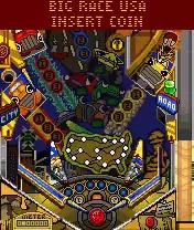 Pro Pinball: Big Race USA Java Game Image 4