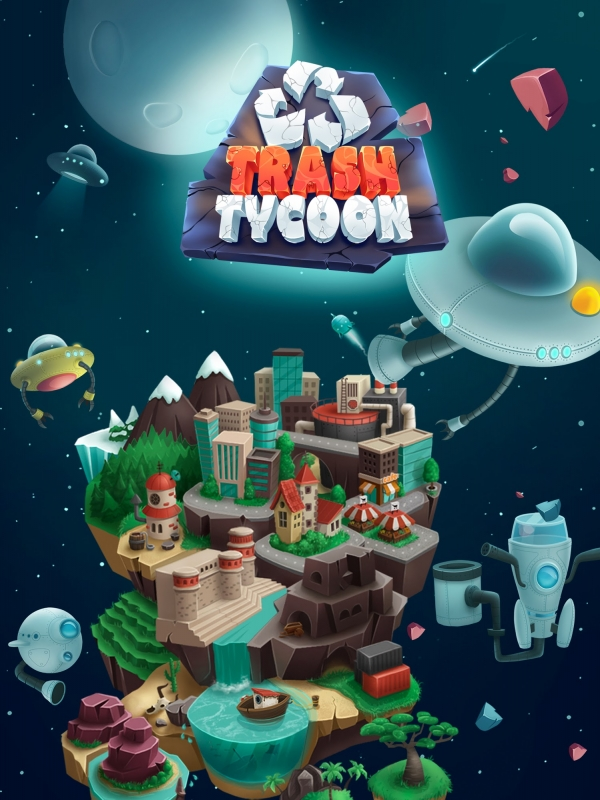 Trash Tycoon: Idle Clicker Android Game Image 1