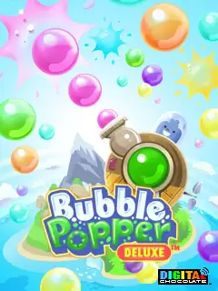 Bubble Popper Deluxe Java Game Image 1