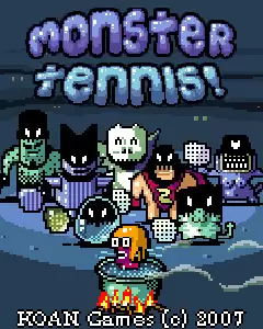 Monster Tennis Java Game Image 1