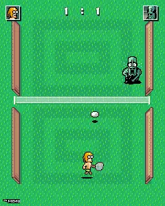 Monster Tennis Java Game Image 2