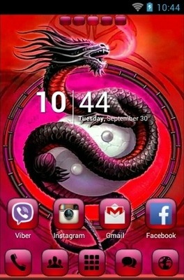 Yinyang Go Launcher Android Theme Image 1