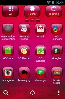 Yinyang Go Launcher Android Theme Image 2