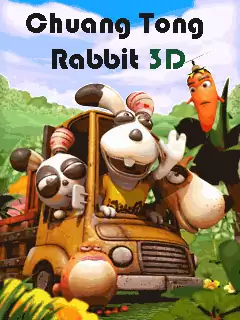 Chuang Tong Rabbit 3D Java Game Image 1