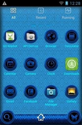 Jasmine Go Launcher Android Theme Image 2