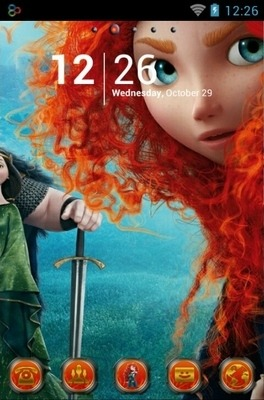 Merida Go Launcher Android Theme Image 1