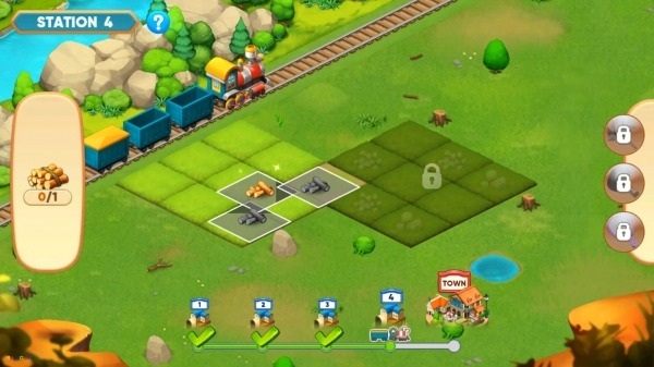 Merge Train Town! Android Game Image 1