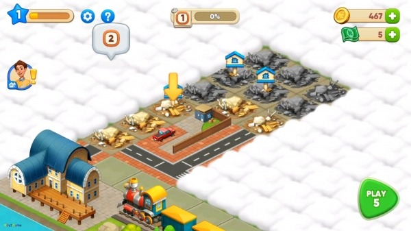Merge Train Town! Android Game Image 2