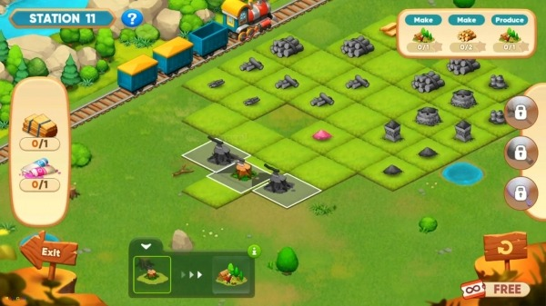 Merge Train Town! Android Game Image 3