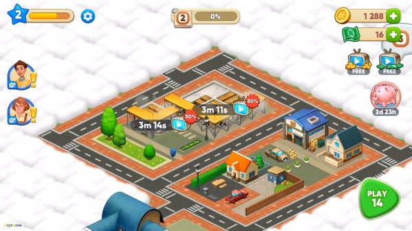 Merge Train Town! Android Game Image 4