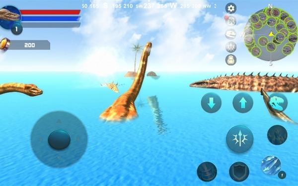 Plesiosaurus Simulator Android Game Image 1