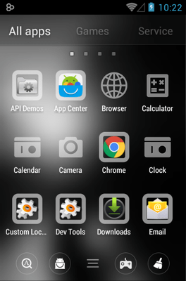 Waiting For U Go Launcher Android Theme Image 2