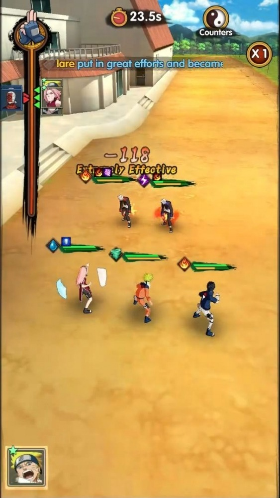 Hokage Ultimate Storm Android Game Image 4