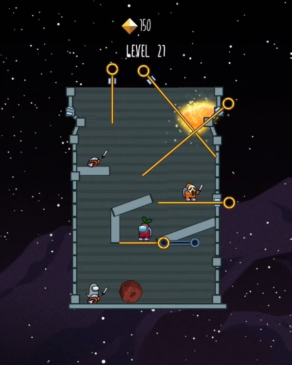 Impostor War - Rescue Crewmate Among Traitor Android Game Image 3