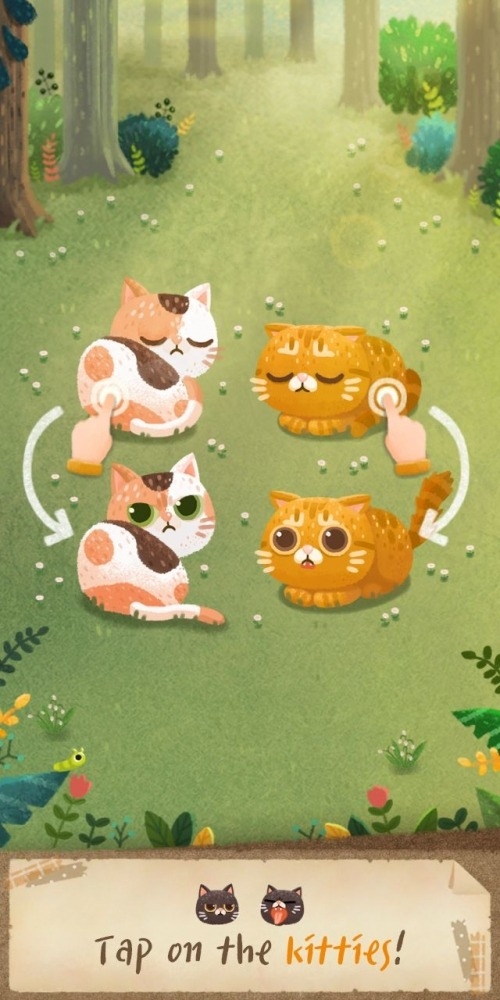 Secret Cat Forest Android Game Image 1