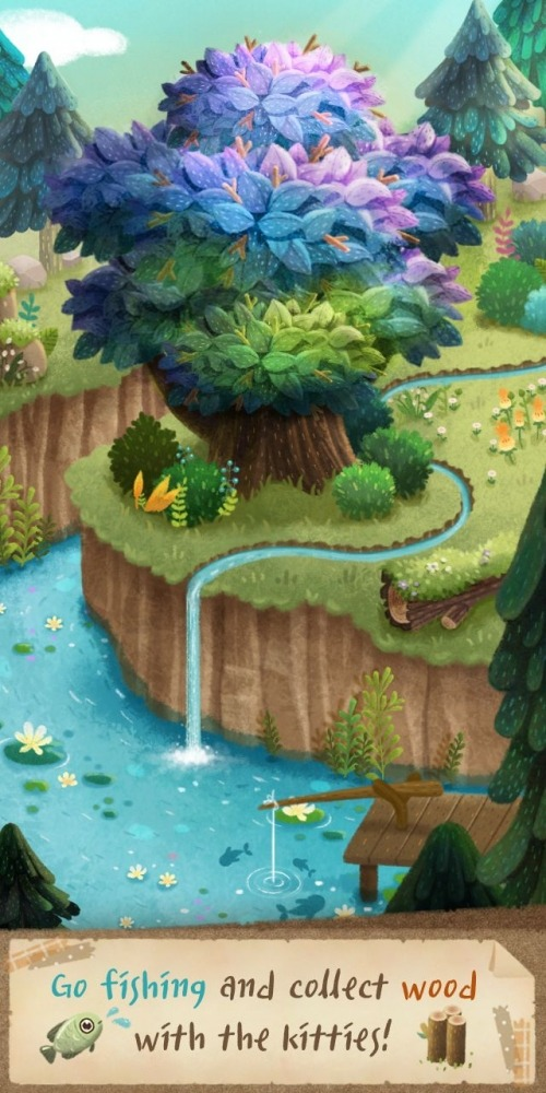Secret Cat Forest Android Game Image 3