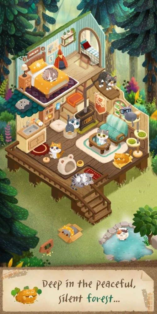Secret Cat Forest Android Game Image 4