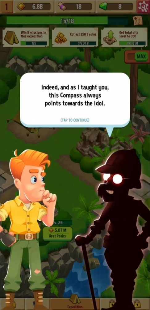 Idle Explorers Android Game Image 2