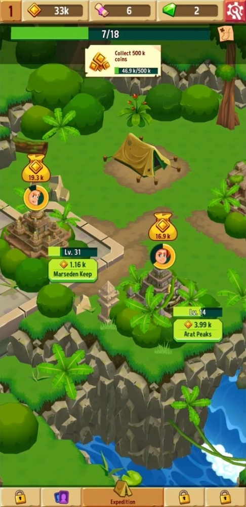 Idle Explorers Android Game Image 3