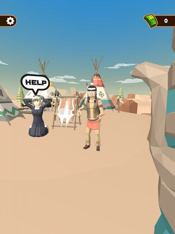 Western Cowboy: Shooting Game Android Game Image 1