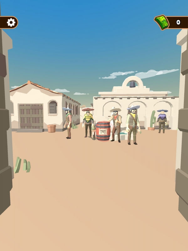 Western Cowboy: Shooting Game Android Game Image 2