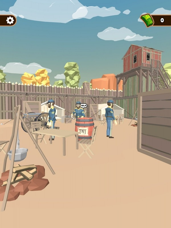 Western Cowboy: Shooting Game Android Game Image 3