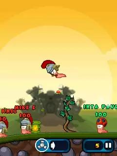 Worms 2011 Armageddon Java Game Image 2