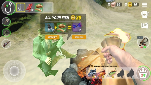 Last Fishing: Monster Clash Android Game Image 2