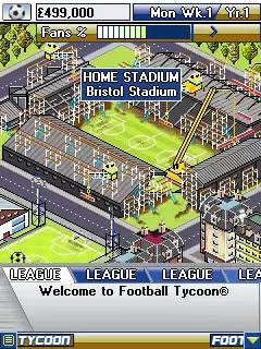 Football Tycoon Java Game Image 4