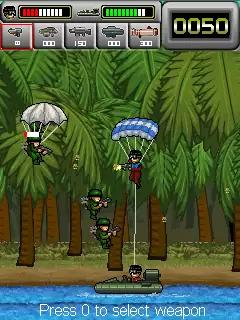 Marine Avengers Java Game Image 3
