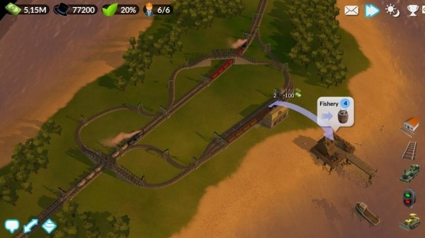 DeckEleven's Railroads 2 Android Game Image 1