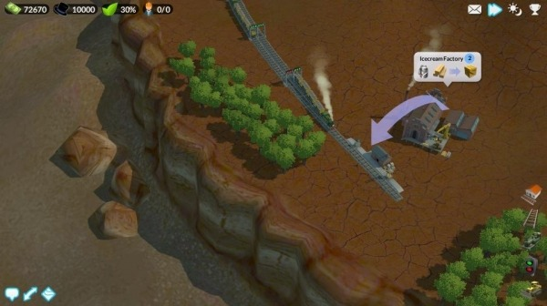 DeckEleven's Railroads 2 Android Game Image 2