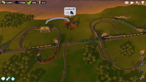 DeckEleven's Railroads 2 Android Game Image 4