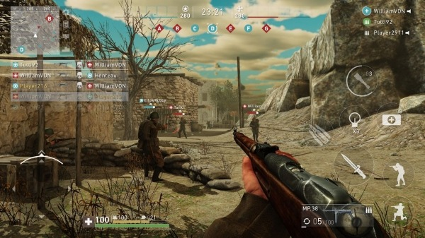 Ghosts Of War: WW2 Shooting Games Android Game Image 1