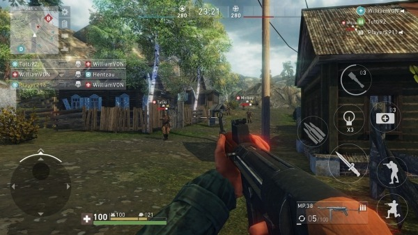 Ghosts Of War: WW2 Shooting Games Android Game Image 3