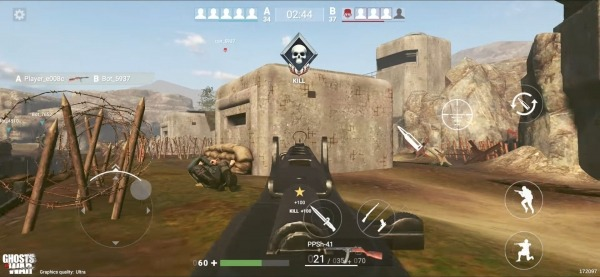 Ghosts Of War: WW2 Shooting Games Android Game Image 4