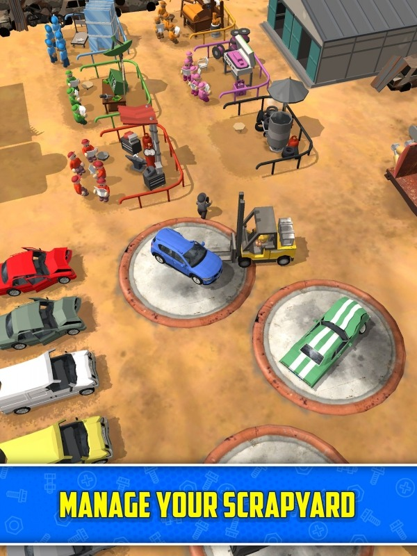 Scrapyard Tycoon Idle Game Android Game Image 1