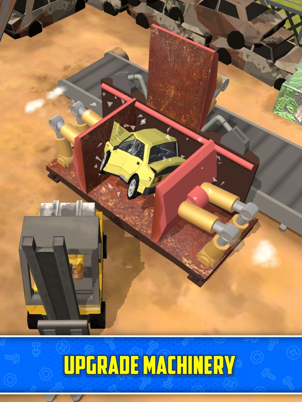 Scrapyard Tycoon Idle Game Android Game Image 2