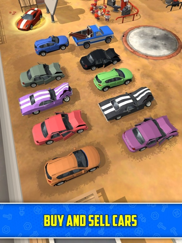 Scrapyard Tycoon Idle Game Android Game Image 3
